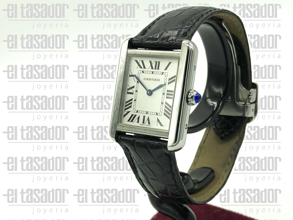 Cartier Tank Solo de Dama - El Tasador | Venta de Joyas