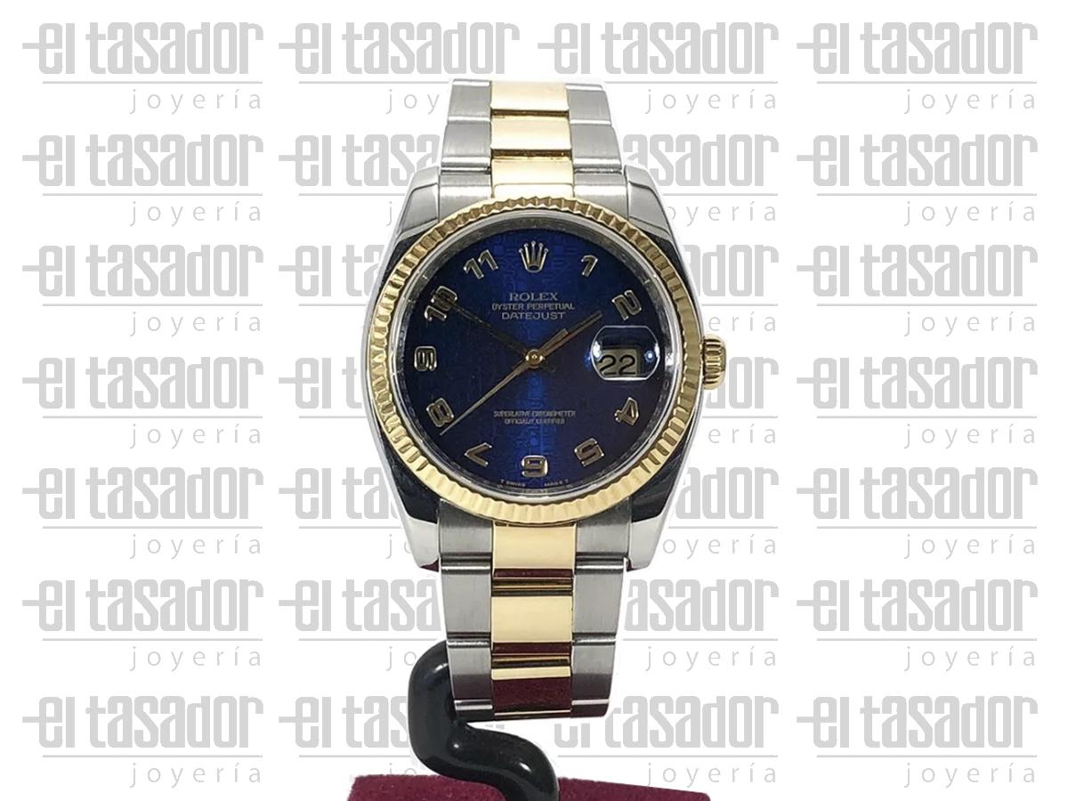Rolex Oyster Perpetual Date Just - El Tasador | Venta de Joyas