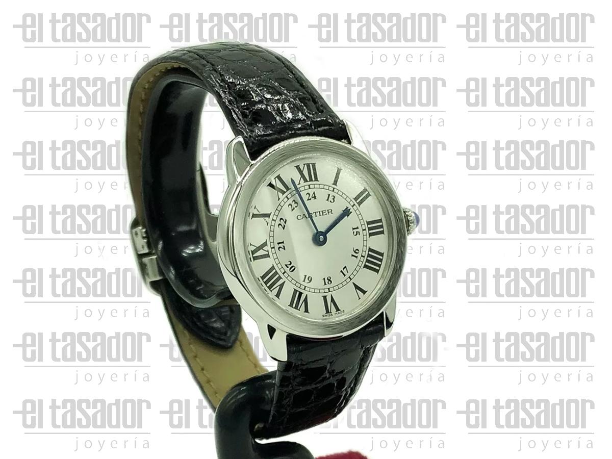 Reloj Cartier Ronde Solo de Dama - El Tasador | Venta de Joyas - El Tasador | Venta de Joyas