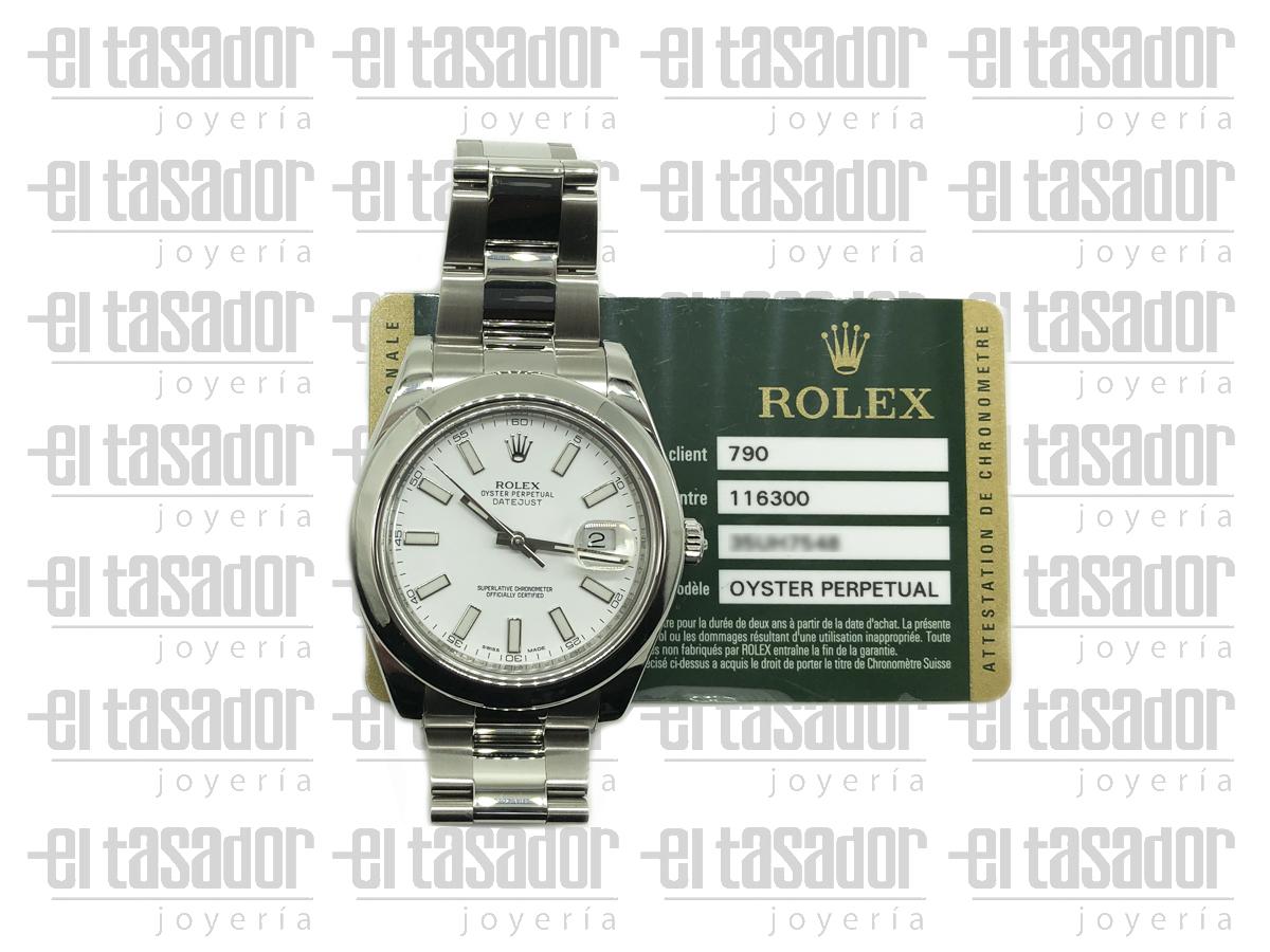 Rolex Oyster Perpetual Date Caballero - El Tasador | Venta de Joyas