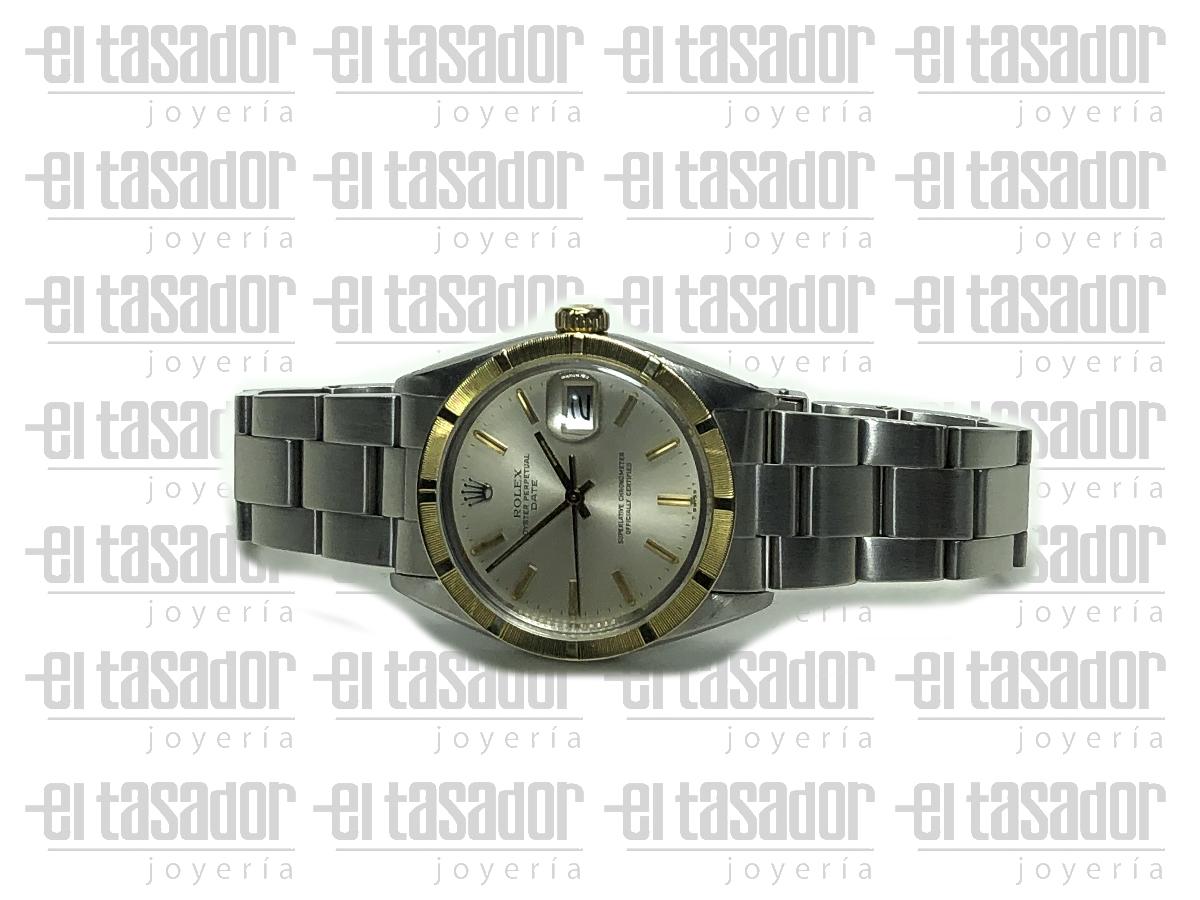 Rolex Oyster Perpetual Date Gris - El Tasador | Venta de Joyas