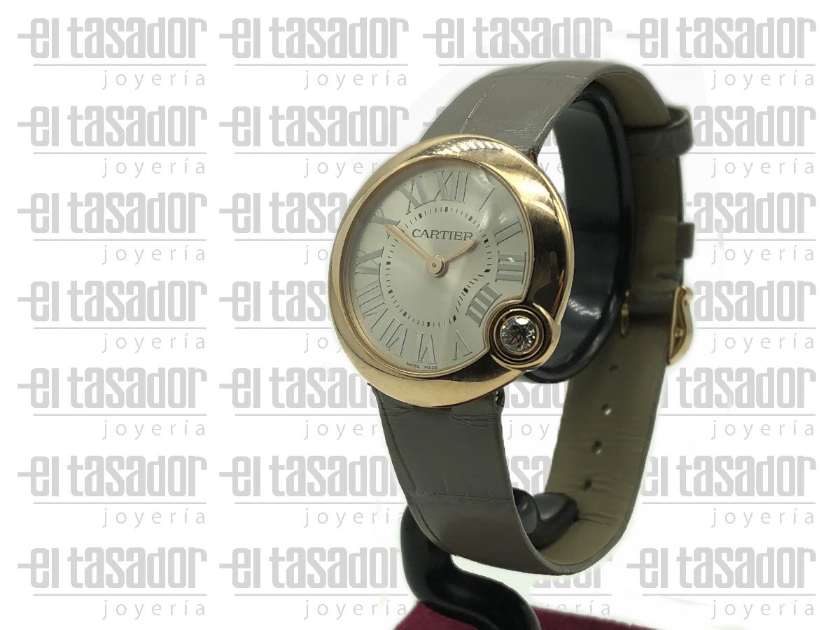 Reloj Cartier Ballon Blanc Rose - El Tasador | Venta de Joyas