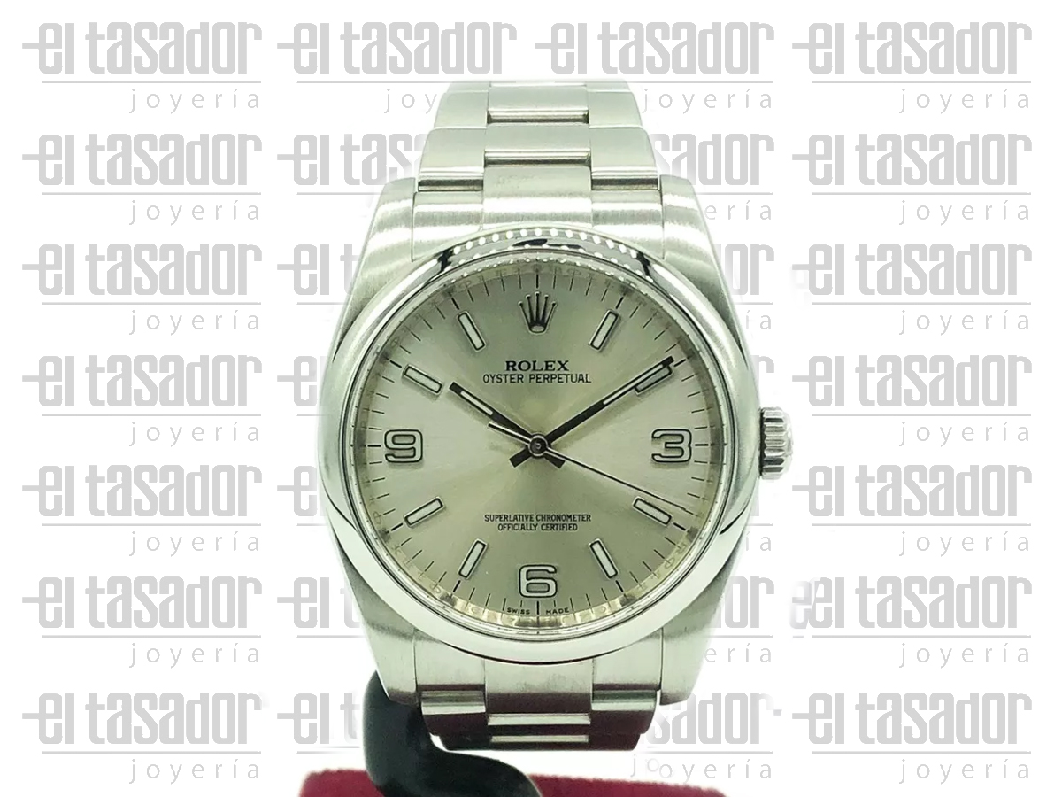 Rolex Oyster Perpetual Caballero- El Tasador | Venta de Joyas